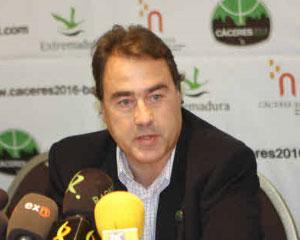 Entrenador del Cáceres CB