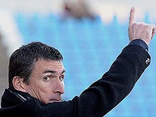 Entrenador del CD Badajoz