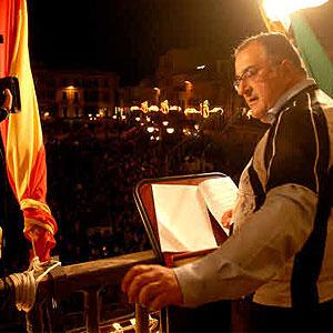 Pregonero del Carnaval de Badajoz 2010